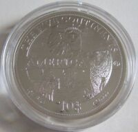 Cook-Inseln 10 Dollars 2011 Five Continents Amerika 1 Oz Silber