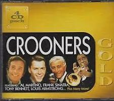 Crooners Gold 4 CD Pack Brand New Sealed