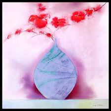 Marilyn robertson coral Blossom II póster son impresiones artísticas con marco de aluminio 60x60cm