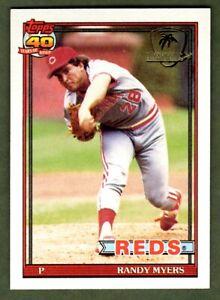 Randy Myers 1991 Topps Desert Shield #780 Cincinnati Reds NM-MT