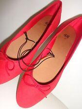TRENDY Ballerines style danseuse Rouge Noeud H&M T 37