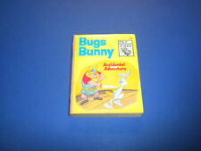 BUGS BUNNY - ACCIDENTAL ADVENTURE Big Little Book- Whitman 1970's soft cover