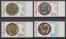 Malawi 1975 Christmas SG 515/8 MNH