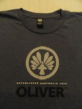 OLIVER Authentic Sportswear SMALL blue t-shirt from Australia since 1938 w logo