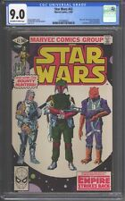 Star Wars #42 CGC 9.0 (1980) 1st Boba Fett - Mandalorian - Classic cover