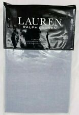 NIP RALPH LAUREN Home Devon Rustic Linen EURO SHAM European Blue NEW $135