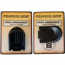 TWO Pearce Para-Ordnance P10 Warthawg Nitehawg Hawg 9 Grip Extensions PGP10E NEW
