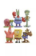 6 PCS Spongebob Squarepants Mr Krab Action Figures Set Figurine Playset Toys