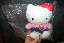 NEW Sanrio Japan McDonald's Worker Girl Hello Kitty Plush Series 7 1999