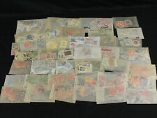 Australia & States Stamp Collection Lot Glassines w/Early Victoria, Queensland++