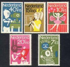 Netherlands 1964 Child Welfare/Children's Games/Music/Dancing/Acting 5v (n39401)