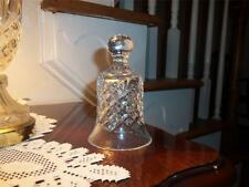WATERFORD BELL STUNNING CRYSTAL AUTH. ETCHED WATERFORD