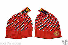 Beanie Skull  Manchester United  MUFC Winter hat Cap official licensed MUFC