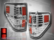 09 10 11 12 13 14 FORD F150 LED TAIL LIGHTS CLEAR