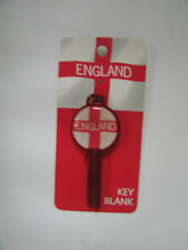 Official England Blank Key - Brand New