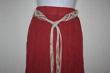 Rivers Coral Crinkle Skirt Sz 14 NWT
