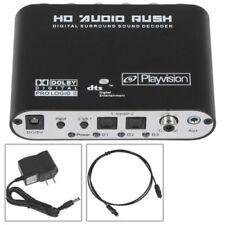 Mini 5.1 Channel DTS/AC3 HD Audio Rush Digital Surround Sound Decoder Optical DE