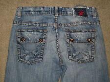 "People's Liberation Size 27 Style # W20MO001 MISA 19"" Monacco Flare Womens Jeans"