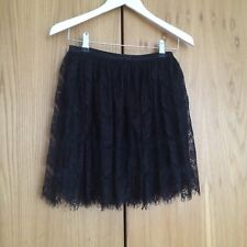 By Malene Birger Lace Skirt Black Size 32