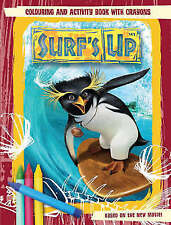 Surf's Up: Colouring and Activity Book with Crayons, , New Book