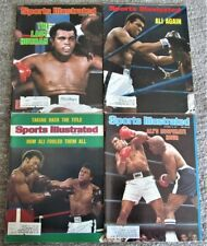 Lot of 25 Vintage Sports Illustrated Boxing Magazines w/Superstar Covers Ali