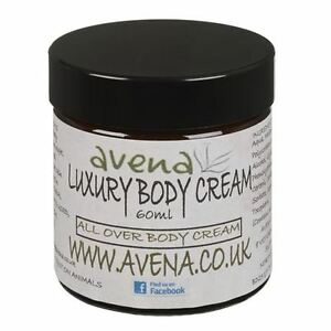 Luxury Body Cream. All Over Body Treatment With Natural Essential Oils 60ml