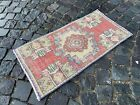 Carpet, Doormats, Small rug, Vintage handmade rug, Wool rug   1,5 x 3,0 ft