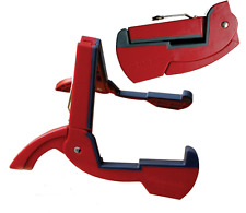 """""""Red"""" Cooperstand Duro Pro Ecco-G Folding Guitar Stand - Fits Most Guitar Cases"""