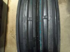 (2) 400X15,400-15,4.00X15,4.00-15 ALLIS CHALMER C 3 Rib Tractor Tires with Tubes