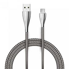 METAL BRAIDED USB CABLE CHARGING POWER SYNC CORD 6FT LONG WIRE For PHONE TABLET