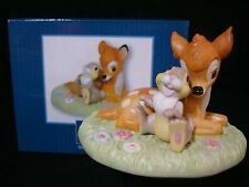 c Precious Moments-Disney-Bambi-Thumper And Flower-The Little Joys Of Life