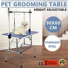 90cm Haustier Hunde Katze Trimmtisch Schertisch Hundepflege Pflegetisch