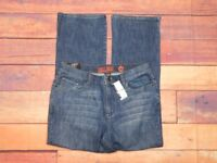 """West Side New York & Co Womens Boot Cut Medium Wash Jeans Size 14P 32"""" W x 30"""" L"""