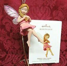 Hallmark 2019 Fairy Messengers Series #15 Ornament~Sweet Pea Fairy