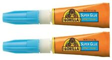 Gorilla 7800101-2 Super Glue (2 Pack), 6 g