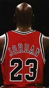 Poster MICHAEL JORDAN 23 Chicago Bulls Nba Dream Team Space Jam BASKET MVP