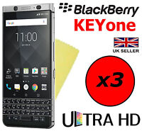3x HQ ULTRA CLEAR HD SCREEN PROTECTOR COVER FILM GUARDS FOR BLACKBERRY KEYone