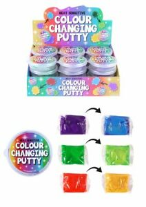 Colour Changing Putty Heat Sensitive Slime Kids Pocket Money Toy Stocking Filler