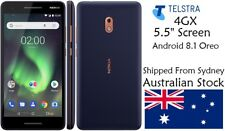 New Telstra Nokia 2.1 Android Mobile Smart Phone HD Display 4GX GPS MP3 Touch