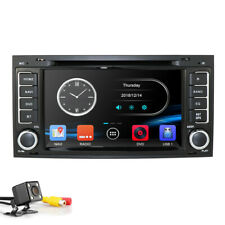 Car DVD Player Radio GPS 7'' Stereo Navi For VW VolksWagen Touareg 2004-2011+Cam