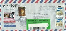 1995 special delivery air cover from La Ceiba, Honduras to Studley, Warwickshire