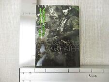 METAL GEAR SOLID Snake Eater Novel SATOSHI HASE Book KD18*
