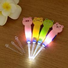 3PCS LED Light Wax Cleaner Flashing Curette Ear Pick Light Earwax Remover Ear