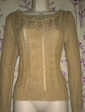 Beige Brown Patterned Jumper size 10 from Atmosphere Primark perfect for winter