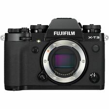 Fujifilm X-T3 Mirrorless Digital Camera (Body Only, Black) Xt3