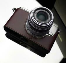 GARIZ  XS-CHEP3MB leather case BROWN Olympus EP3 , E-P3