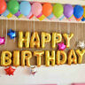 "16"" 13Pcs HAPPY BIRTHDAY Letters Foil Balloons Birthday Celebration Party Decor"