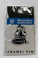 """Vintage, Warner Bros Studio Store: """"Sylvester, Tweety"""" Enamel Pin, NEW"""