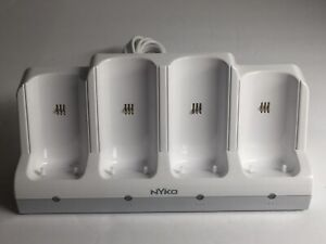 Nyko Nintendo Wii Battery Charge Station Quad Charger/Base Cradle 87060-A50