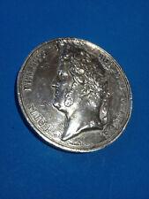 MÉDAILLE en Argent Louis Phillippe 1841 Prix Instituteurs  / French Silver Medal